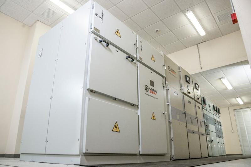 Planta eléctrica Genesal Energy México - Control de funcionamiento