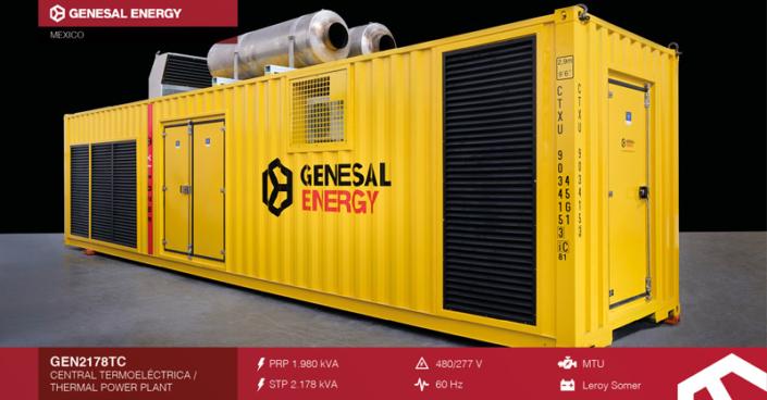 Caso de éxito Genesal Energy México - Central de ciclo combinado Valle México II