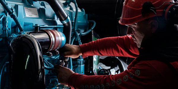 Mantenimiento correctivo y reparación de plantas eléctricas